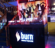Burn Energy Drink DJ Booth Project